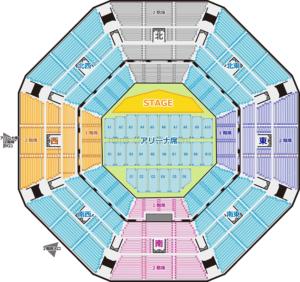日本武道館 座席表