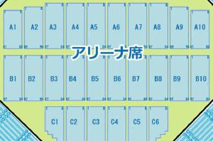 日本武道館 アリーナ席 タイプ1