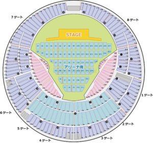 横浜スタジアム 座席表