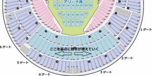 横浜スタジアム 座席番号指定方法