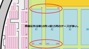 函館アリーナ アリーナ 席番号指定方法