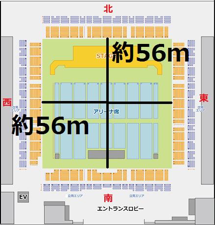 福岡国際センター展示ホール広さ