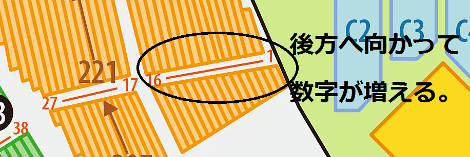 明治神宮野球場 段の指定方法