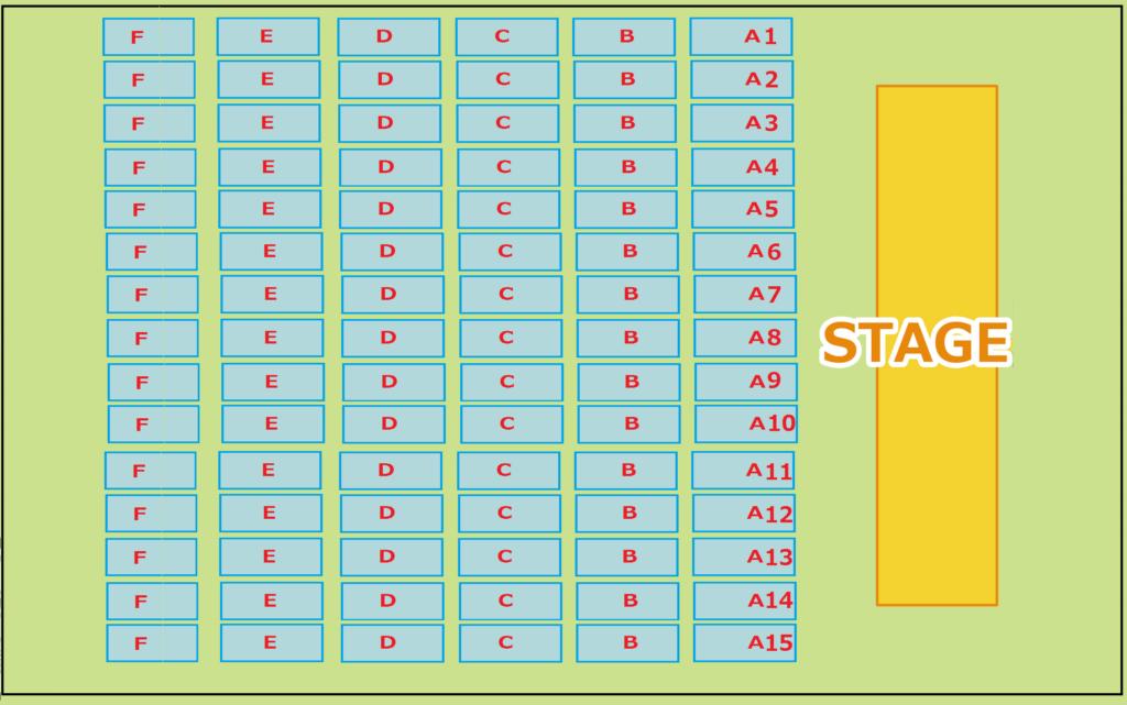 幕張国際展示場 座席表3
