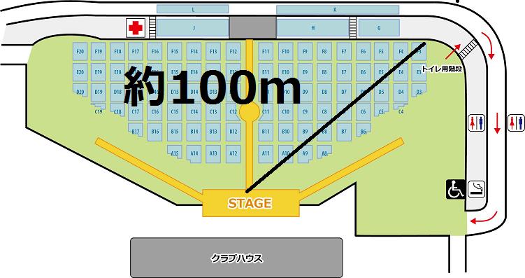 富士急ハイランドコニファーフォレスト 座席 端 後方 見え方