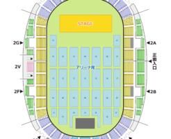 和歌山ビッグホエール 座席表